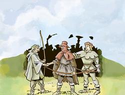 Robin des Bois remporte la flèche en or du shérif