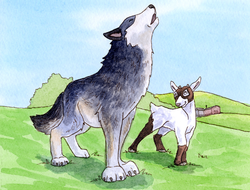 Goat and the Singing Wolf, The
