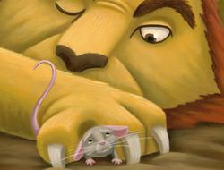 león y el ratón, El