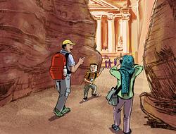 Trip to Petra, A
