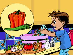 Préparer de la salsa !