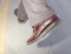 calzado que usan los hombres, El